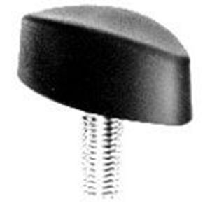Picture for category Plastic Locking Wing Knob with Stud by ELESA®